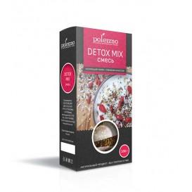 Detox Mix (смесь семян для здоровой микрофлоры кишечника и очищения организма) 200 г (Polezzno)