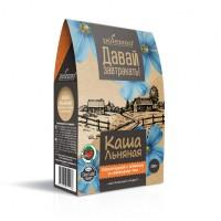 Каша льняная «Шоколадная с изюмом и семенами чиа» 300 г (Polezzno)