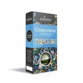 Спирулина органическая порошок 100 г (Polezzno)