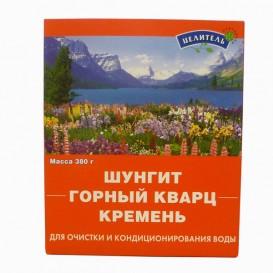 Энергетическая смесь: кремень, кварц, шунгит 380 г (Природный целитель)