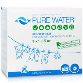 Стиральный порошок PURE WATER 1 кг (PURE WATER)
