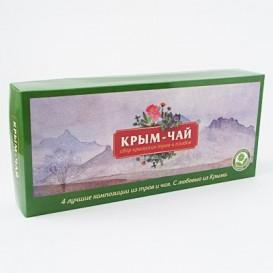 Набор подарочный 4 чая «Крым-чай» (красный) (Крым-чай)