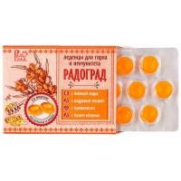 Леденцы живичные с облепихой и медом 10 шт по 3,2 г (Радоград)