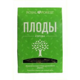 Измельченные плоды рожкового дерева (кэроб) 100 г (Роял Форест)