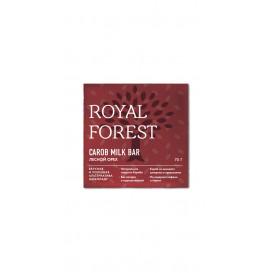 Шоколад из кэроба с лесными орехами 75 г (Роял Форест)