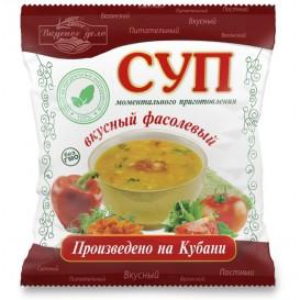 Фасолевый суп моментального приготовления 28 г (Вкусное дело)