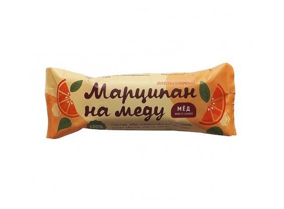 Марципан на меду в шоколаде на меду Апельсиновый 40 г (Гагаринские мануфактуры)