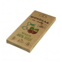 Шоколад На Меду молочный С ФУНДУКОМ 46% какао (Гагаринские мануфактуры)