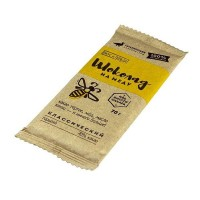 """Шоколад на меду """"Вкус и польза"""" Классический горький 70% какао (Гагаринские мануфактуры)"""