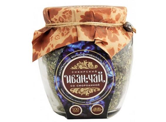 """""""Сибирский иван-чай"""" ферментированный с листьями смородины 100 г"""