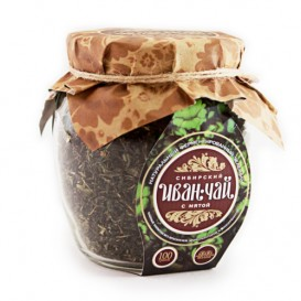 """""""Сибирский иван-чай"""" ферментированный с мятой 100 г"""
