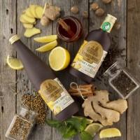 Сбитень имбирный с лимоном 250 мл, 500 мл (Столбушино)