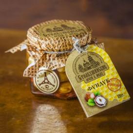 Фундук орех в меду 120 мл (Столбушино)
