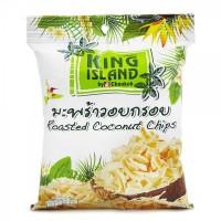 Кокосовые чипсы KING ISLAND без добавок 40 г (Thai style)