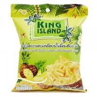 Кокосовые чипсы KING ISLAND с ананасом 40 г (Thai style)