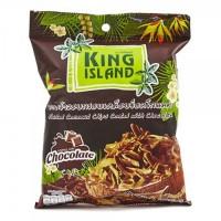 Кокосовые чипсы KING ISLAND с шоколадом 40 г (Thai style)
