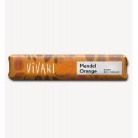 Шоколад на рисовом молоке с апельсином и миндалем 35 г (Vivani)